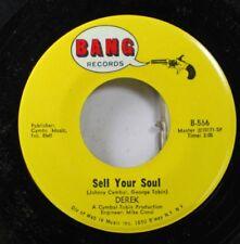 Rock Nm! 45 Derek - Sell Your Soul / Back Door Man On Bang Records