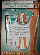 NEW Ideal Conceal Light Medium Natural Body Enhancer -Makes Skin Look All Better