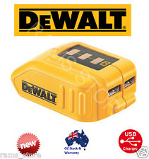 NEW DEWALT DCB090 USB CHARGING BATTERY ADAPTER POWER BANK Charger Portable