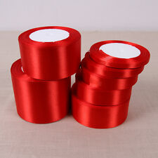 25 Yards Silk Satin Ribbon Wedding Party Decor Wrapping Xmas Apparel*Sewin BLBJ