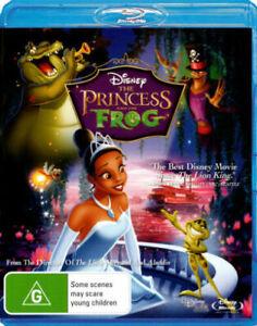 The Princess And The Frog Blu-ray (PAL, 2010) VGC, FREE POST
