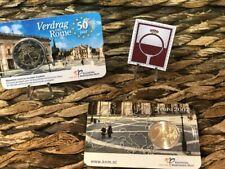 2 EURO COINCARD NEDERLAND 2007 - VERDRAG VAN ROME