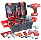 42 PCS Workbench Tool Play Set with Box, Realistic Construction Pretend Play