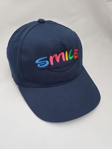 Smile Personalised Kids Children's Embroidered base ball cap hat
