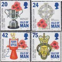 GB - Insel Man 684-687 (kompl.Ausg.) postfrisch 1996 Kriegsveteranen