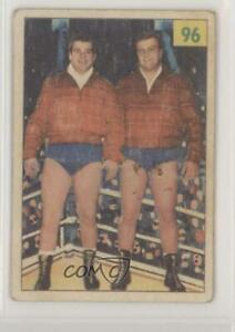 1955-56 Parkhurst Wrestling Scott Brothers George Sandy #96