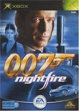 James Bond 007 Nightfire jeu Xbox Originale PAL FR Occasion Avec Notice