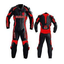GSXR SUZUKI Combinaison de Moto en Cuir Courses Moto en Cuir Veste Pantalon