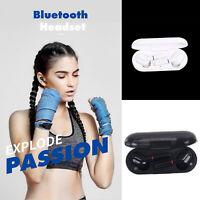 Touch TWS W1 Wireless Auricolari Bluetooth 5.0 In-Ear Sport Auricolari Cuffie