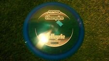 new Valkyrie Champion 170 blue distance driver Innova disc golf