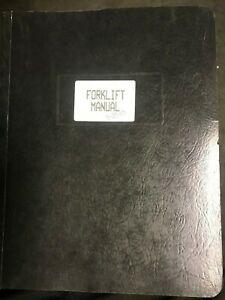 Forklift Operators Manual