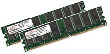 2x 1gb 2gb ram Mémoire DDR 266mhz pc2100 184pin
