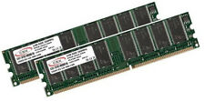 2x 1GB 2GB RAM Arbeitspeicher DDR 266Mhz PC2100 184pin