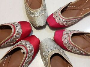 punjabi jutti  Womens Indian Traditional Khussa Shoes Mojari ethnic shoes jooti