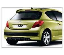 Peugeot 207 Rear Spoiler - RCup Rear Diffuser - For Sport Bumper P0000961314