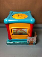 Disney Baby Winnie the Pooh Learning Activity Cube New Baby Toddler Child Toy