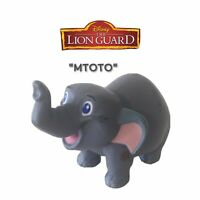 RARE Disney Jr. The Lion Guard Mtoto Elephant Collectible PVC Figure Toy 2016