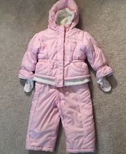 Girl's Baby 12M Zero Posur Insulated jumper & jacket snowsuit pink 12 M