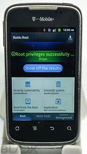 RARE BAIDU ROOT!!! Huawei Prism (U8651T) - Charcoal Gray (T-Mobile) Smartphone