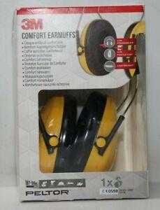 3M Peltor H510A Optime I Kapselgehörschützer gelb  mit verstellbarem Kopfbügel