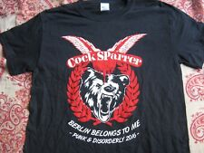 COCK SPARRER - T-Shirt in M, L