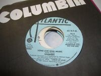 Soul Promo 45 SPINNERS Long Live Soul Music on Atlantic (promo)