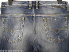 Diesel Distressed Classic Fit, Straight 30L Jeans for Men