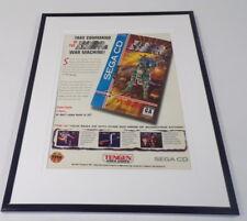 Robo Aleste 1993 Sega CD 11x14 Framed ORIGINAL Advertisement