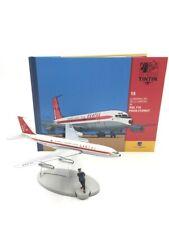 En Avion Tintin le boing 707 qantas vol 714 pour sydney N19 + livret
