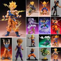Dragon Ball Z Super Saiyan Son Goku Vegeta Modèle Animé Manga Figurine Jouets