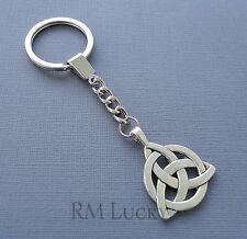 Keychain Ring Key Fob Zipper Pull Purse Сharm Pendant Dangle Celtic Knot C23