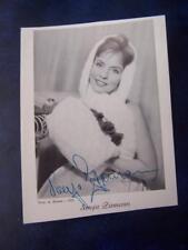 Sonja Ziemann   - Autograph (GC5) 5.5 x 4  inch