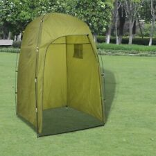 vidaXL Douche-/WC-/Omkleed Tent Groen Camping Kamperen Kleedhok WC-hok Douche