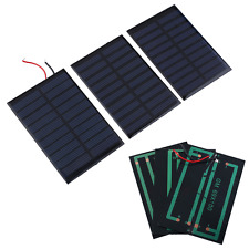 5V 0.8W Mini Solar Panel Battery power charger charging Module DIY Cell car