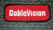 CABLEVISION (cable TV) Iron or Sew-On Patch