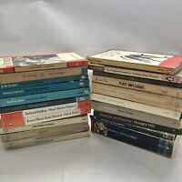 Lot of 22 Vintage Penguin & Pelican Paperback Fiction Plays & Other