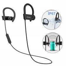 Mpow D9 Sports Bluetooth 5.0 Headphones Wireless CVC6.0 Noise Cancelling Earbuds
