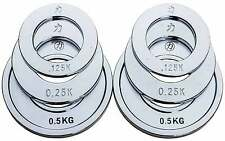 Strength Shop Steel Fractional Olympic Weight Plate Set - Micro load