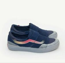 VANS SLIP ON EXP PRO ARCAD NAVY FROST size 10, brand new still in box