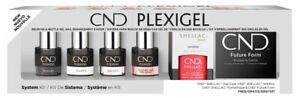 CND PLEXIGEL System Kit - 10 Piece Set - NEW Authentic