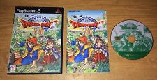 Dragon Quest VIII 8 Playstation 2 Game Complete Fun Japan Import PS2 Games