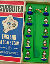 SUBBUTEO TEAM ENGLAND C500  MINT IMMACULATE CONDITIONS PLAYERS & COLOURED BOX