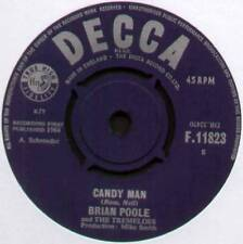 """BRIAN POOLE / TREMELOES ~ CANDY MAN / I WISH I COULD DANCE ~ 1964 UK 7"""" SINGLE"""