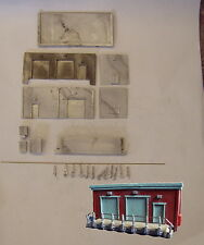 P&D Marsh N Gauge N Scale M8 Sub-station Control building kit requires painting