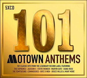 MOTOWN * 101 Greatest Hits * New 5-CD Boxset * All Original Hits * NEW