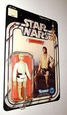 VINTAGE Star Wars Luke Skywalker figura il 12 retro carta Nuovo di zecca!