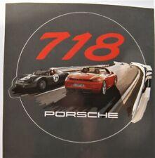Porsche 987 Autocollant decal boxter carrera racing couleurs différentes