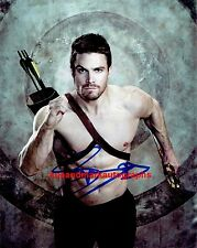 Stephen Amell Oliver Queen Green Arrow Arrowverse B  Autograph UACC RD96