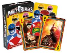 Power Rangers set of 52 playing cards + jokers (nm)