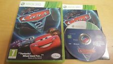 DISNEY CARS 2 for XBOX 360 COMPLETE WITH FREE UK P&P
